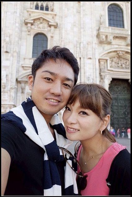 保田圭、イタリアで子宝祈願 夫婦でラブラブ旅行の画像 プリ画像