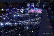 """東京ミッドタウンのXmasイルミネーション、今年は""""宇宙旅行""""をイメージの画像(東京ミッドタウンに関連した画像)"""