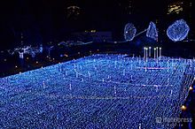 """東京ミッドタウンで""""宇宙旅行""""気分のイルミを体験してみたの画像(東京ミッドタウンに関連した画像)"""