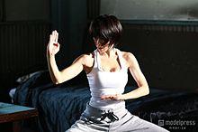 釈由美子、美バスト&鍛え上げたボディ披露 14年ぶりの本格アクションに挑むの画像(プリ画像)