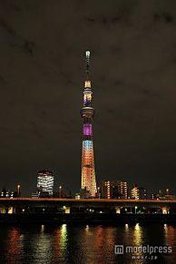 東京スカイツリー、夏季限定で12種の日替わりライティングを点灯の画像(夏季限定に関連した画像)