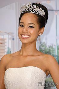 ミス・ユニバース日本代表、美デコルテ輝くウエディングドレスで「お姫様になったよう」の画像(プリ画像)