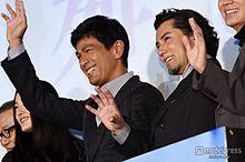 江口洋介、本木雅弘とがっちり握手「非常に刺激を受けた」「良い化学反応が出せた」の画像(本木雅弘に関連した画像)
