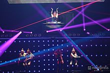 """DJ""植野有砂、圧倒的美ボディ集団CYBERJAPAN DANCERSがSEXYダンスで迫力コラボ<TGC2015A/W>の画像(CYBERJAPANに関連した画像)"