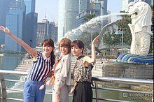 南明奈&原幹恵&田中みな実、シンガポール女子旅で人気スポット巡りの画像(プリ画像)