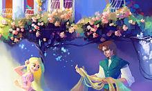 ディズニープリンセス ラプンツェル フリンライダーの画像(プリ画像)