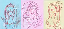 ディズニープリンセス エスメラルダ オーロラ ベルの画像(プリ画像)
