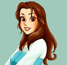 ディズニープリンセス ベル 美女と野獣の画像(プリ画像)