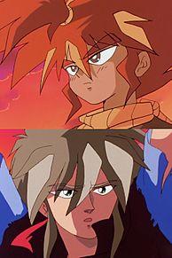 魔神英雄伝ワタル2 海火子&クラマの画像(魔神英雄伝ワタルに関連した画像)