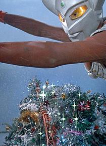 ウルトラマンタロウ クリスマス 加工待受 改良版の画像(プリ画像)