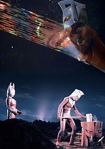 ウルトラマンタロウ 正月 加工待受の画像(プリ画像)