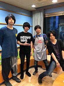 UNISON SQUARE GARDEN ラジオ出演時の画像(鈴木貴雄に関連した画像)