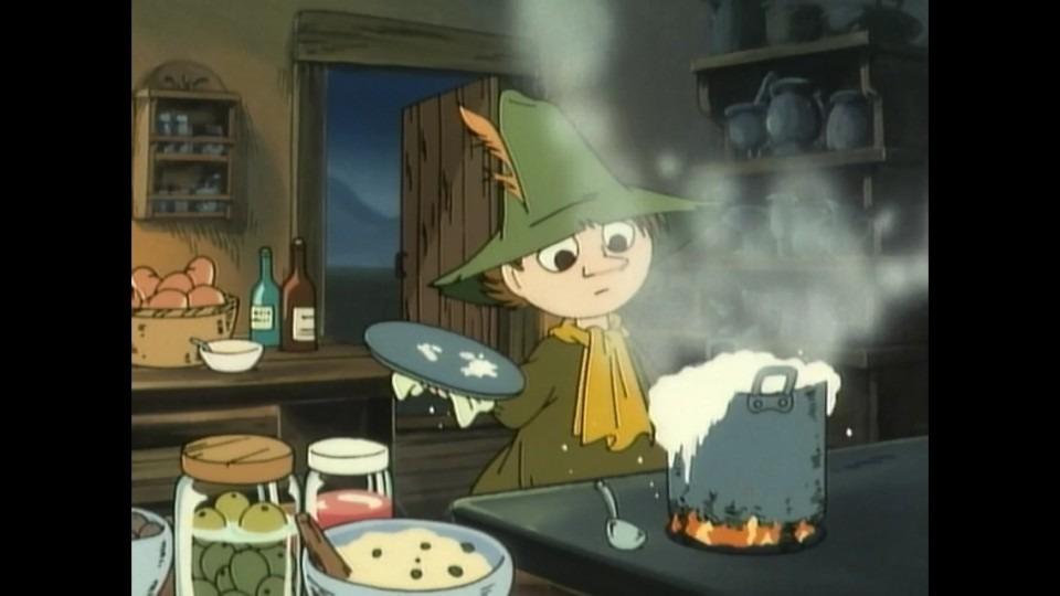 料理をするスナフキン