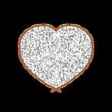 ラメハートの画像(ハート 素材に関連した画像)