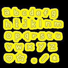 アルファベット文字の画像(地下アイドルに関連した画像)
