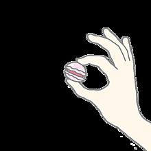 マカロン 背景透明の画像(プリ画像)