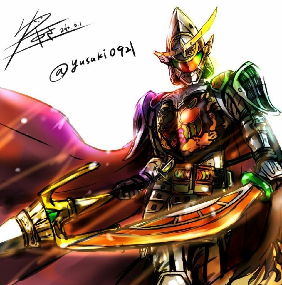 仮面ライダー鎧武 極アームズ 34105143 完全無料画像検索のプリ画像