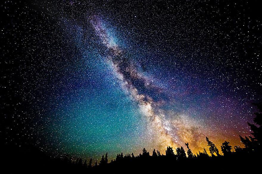 高画質 星空 宇宙 天の川の画像(壁紙 星空 綺麗 高画質に関連した