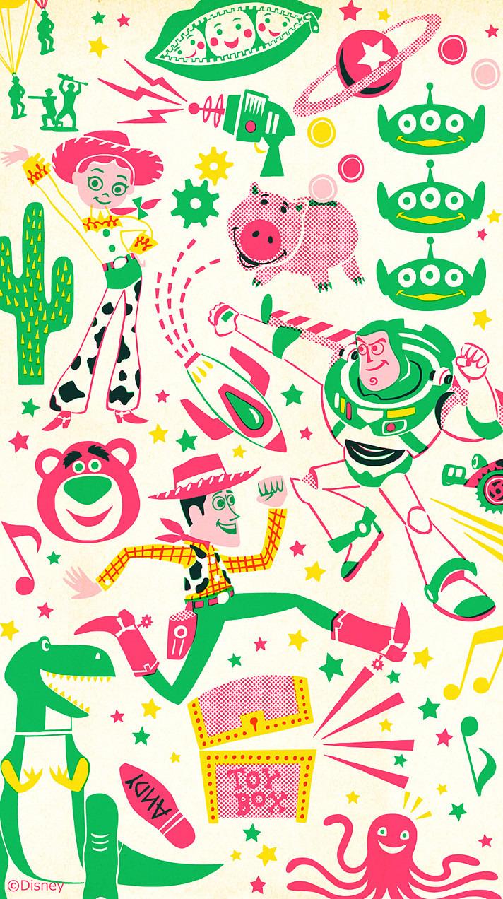 Iphone 壁紙 ディズニー トイストーリー 50905294 完全無料画像検索