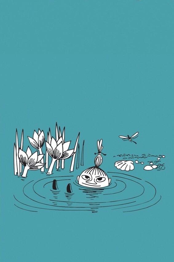 池に入っているミイです