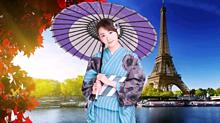 乃木坂46  生駒里奈  ♡☆ 海外旅行 パリ エッフェル塔の画像(エッフェル塔に関連した画像)