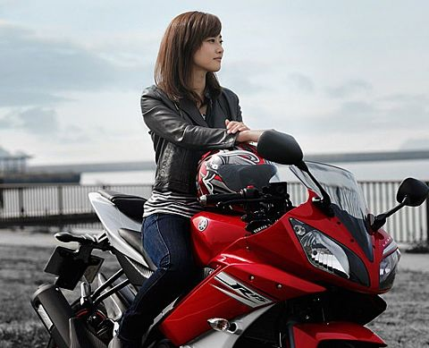女性ライダー  ♡☆  バイク ~ オートバイ
