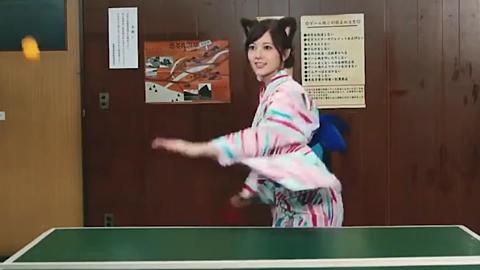 乃木坂46  白石麻衣 ・・卓球の画像 プリ画像
