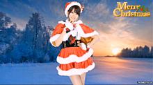 前田敦子 ♡☆ サンタクロース プリ画像