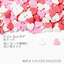 LOVEEVALUATIONの画像(プリ画像)