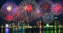 神戸花火大会の画像(神戸に関連した画像)