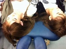 AKB48 小嶋陽菜 高橋みなみ 寝顔の画像(プリ画像)
