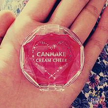 CANMAKE クリームチークの画像(クリームチークに関連した画像)