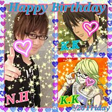 花江夏樹&桂小五郎&桂小太郎Happy Birthdayの画像(幕末rockに関連した画像)
