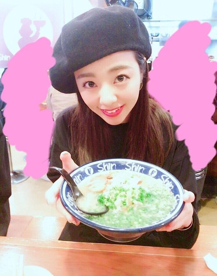 ラーメンを食べる川村真洋です。