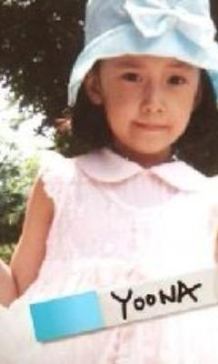 少女時代 ユナ 幼少時代の画像(プリ画像)
