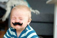 赤ちゃんの画像(ひげ 素材に関連した画像)