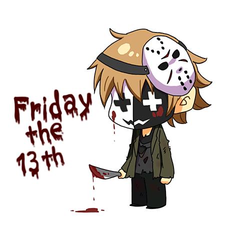 13日の金曜日の画像(プリ画像)