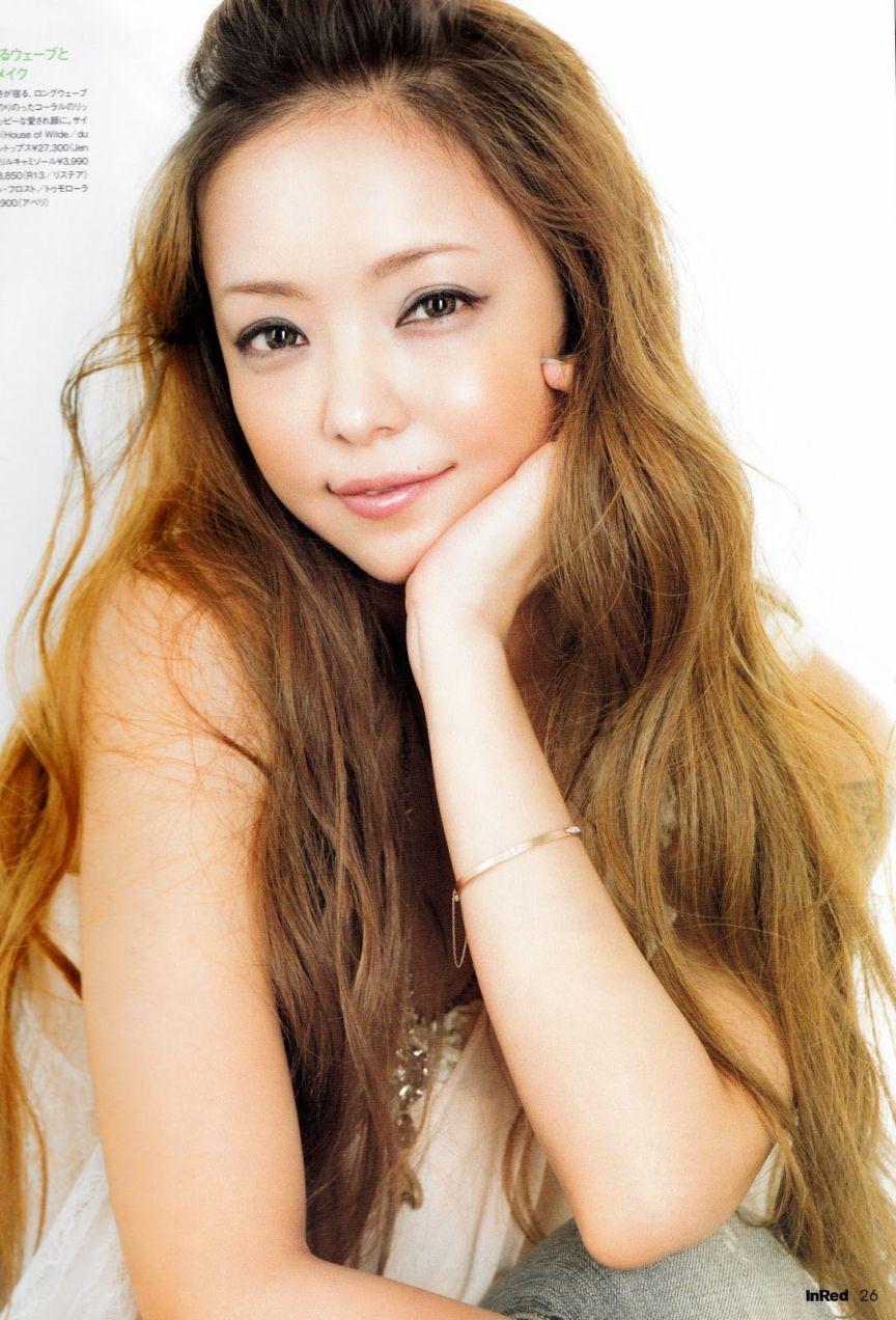 最新のヘアスタイル 安室奈美恵 髪型 画像 : Namie Amuro