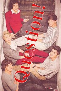 1D ONE DIRECTION 質問!