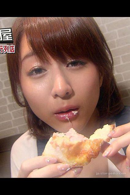 食レポの田中アナ