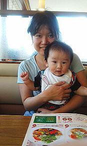 母と子 母子 赤ちゃん 男の子 ココス プリ画像