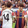 Chicharito and Messi プリ画像