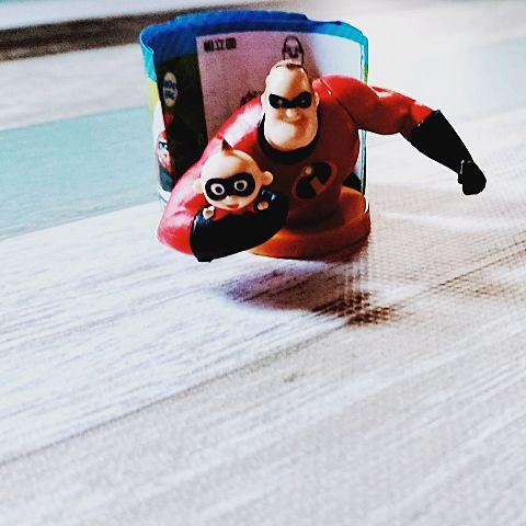 Disney pixar choco egg BOB PARRの画像(プリ画像)