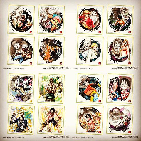 ワンピース LOGBOX & 色紙ARTの画像 プリ画像