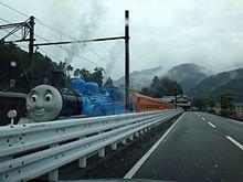大井川鉄道を走る機関車トーマスの画像(大井に関連した画像)