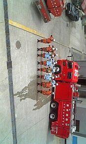 消防士 消防車