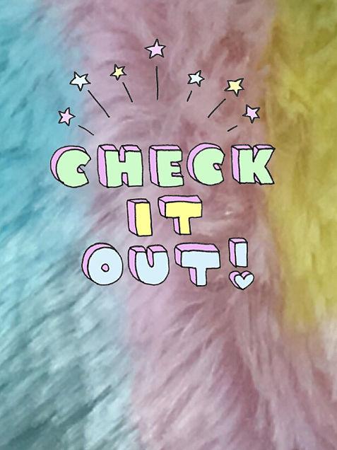 壁紙 CHEK IT OUTの画像(プリ画像)