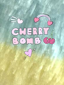壁紙 CHERRY BOMB プリ画像