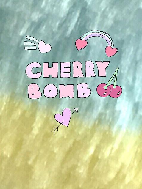 壁紙 CHERRY BOMBの画像(プリ画像)
