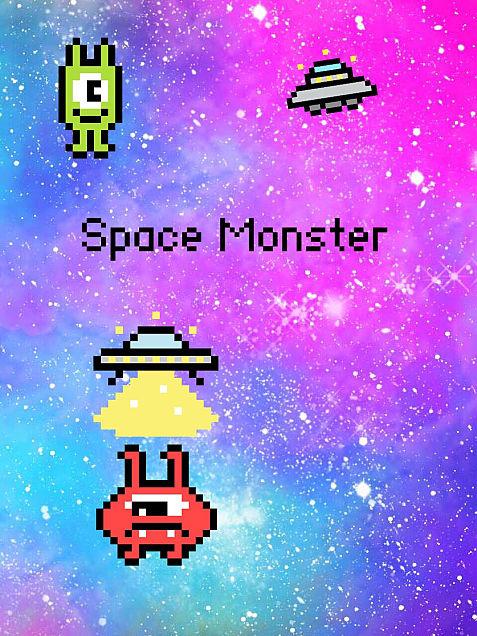 壁紙 うちゅうモンスター Space Monsterの画像(プリ画像)